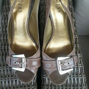 GUESS heels size 8 1/2